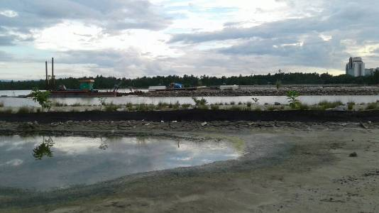 Pelabuhan tambat labuh yang tidak lama lagi akan difungsikan. FOTO : FA