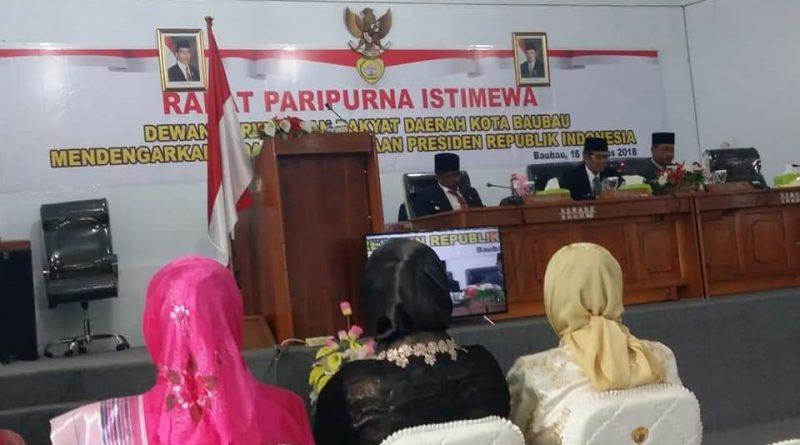 Dewan Resmi Umumkan AS Tamrin-Monianse, Wali Kota dan Wawali Baubau Terpilih