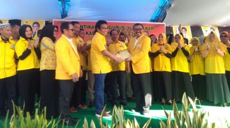 Arhawi Pimpin DPD Partai Golkar Wakatobi