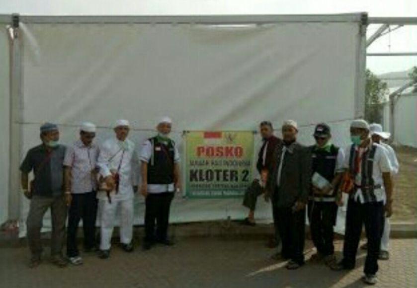 Jelang Jumrah di Madinah Pembimbing Haji Bersama Ketua Kloter Survei Lokasi. FOTO : IST