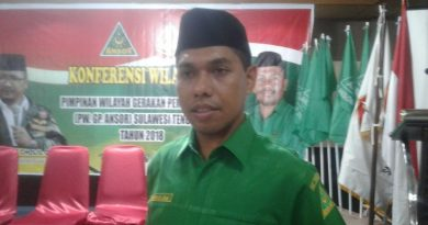 Usai Terpilih Secara Aklamasi, Pendais Haq Pimpin GP Ansor Sultra