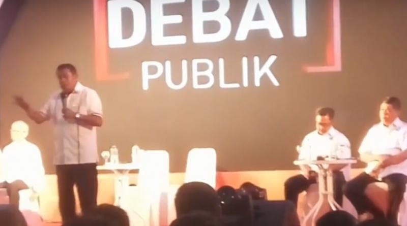 Debat Publik Sesi II Terungkap, IUP di Sultra 523, Begini Tanggapan Hugua