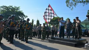 Keseruan dan Kekompakan Panca Lomba Gabungan TNI-Polri