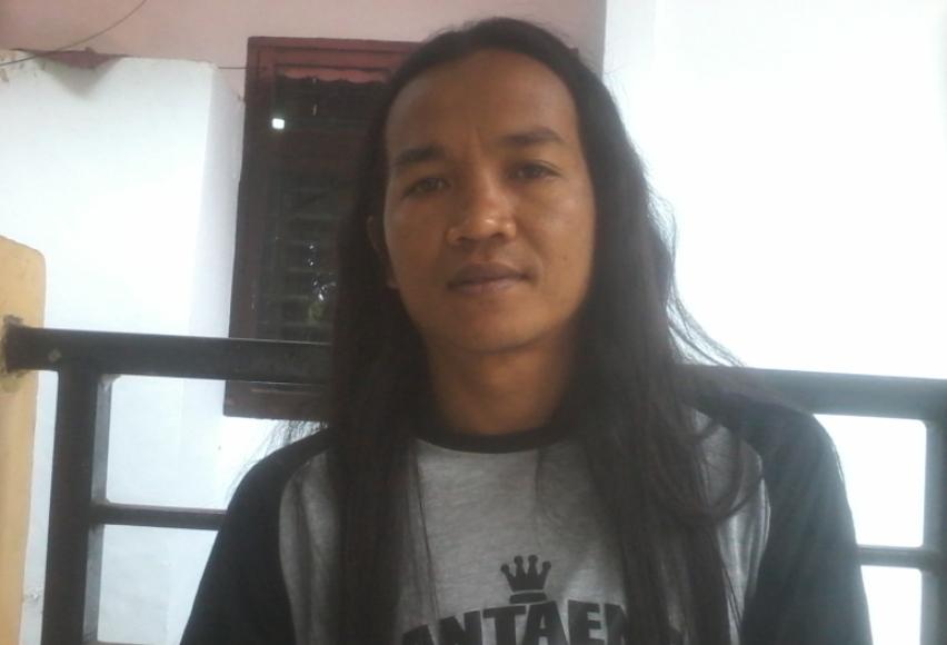 Ketua LSM TKP Bantaeng Idil. FOTO : SYAMSUDDIN