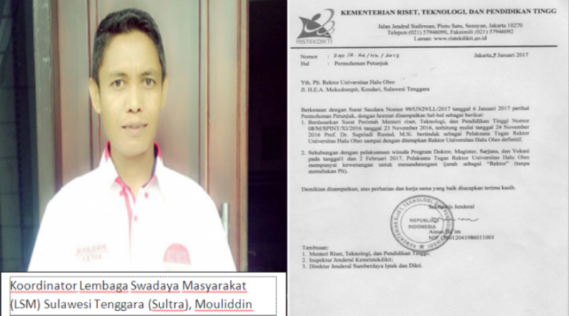 LSM Tuding, Ijazah Alumni 1.857 UHO Palsu karena Rektornya Palsu