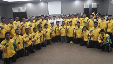 Pomnas di Makassar, 80 Atlet Diberangkatkan dari Universitas di Sultra