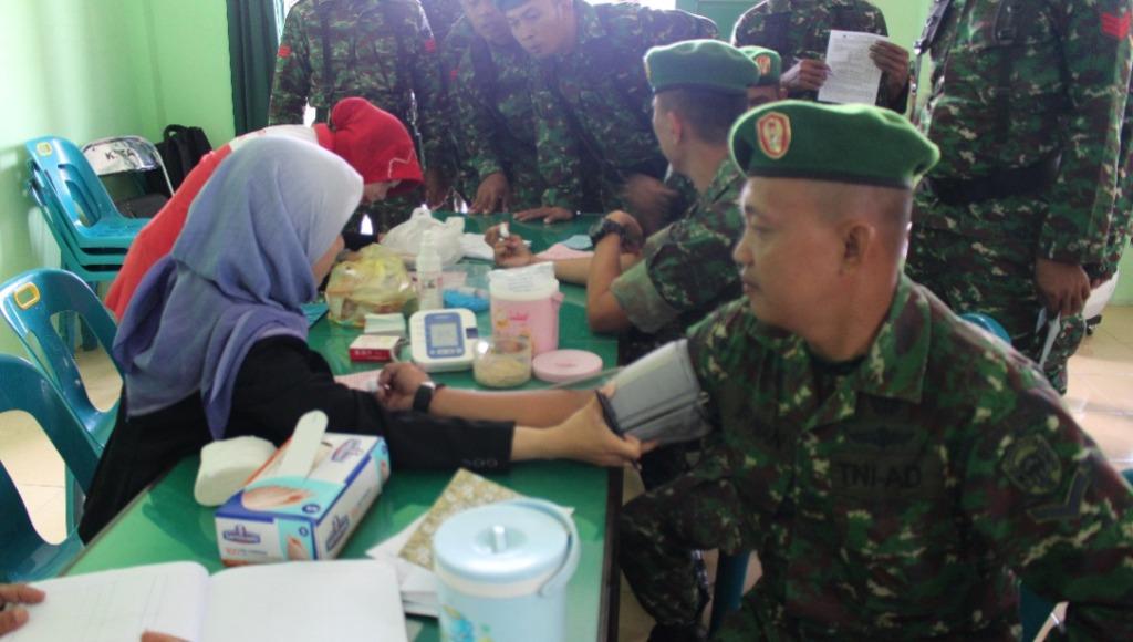Kodim 0104/Atim Donor Darah Bantu Penderita Thalasaemia