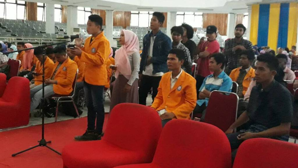 Kasrem 143/HO Adakan Dialog Bersama Ratusan Perwakilan Fakultas