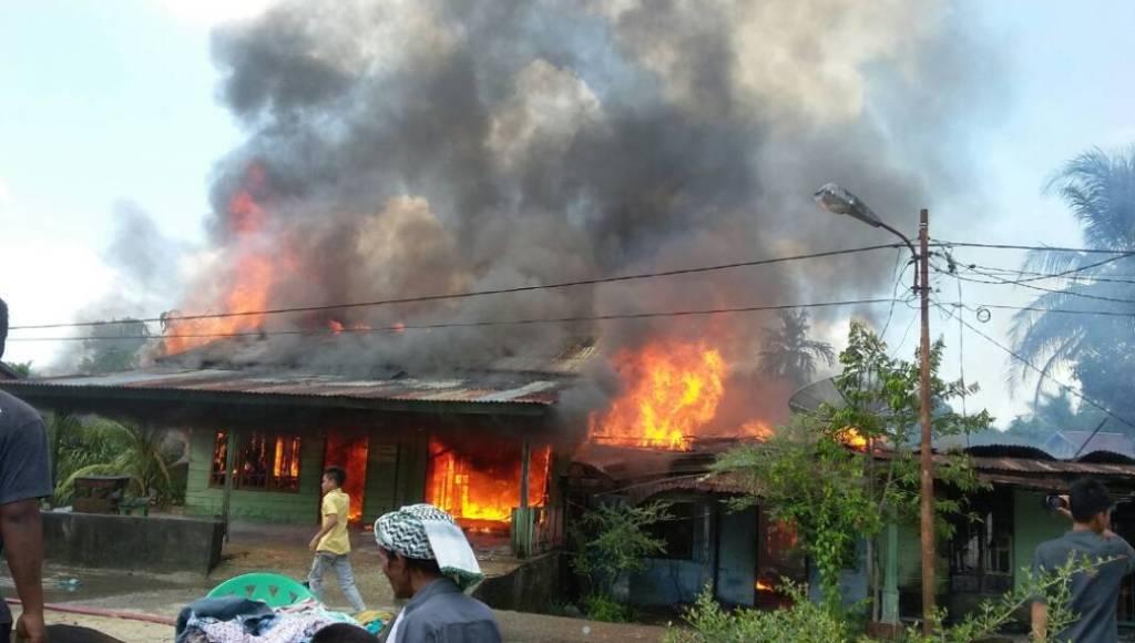 Puluhan Rumah Musnah Terbakar di Subulussalam