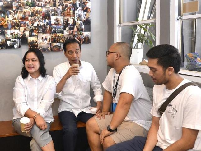 Presiden Puji Anak Muda Kembangkan Brand Lokal