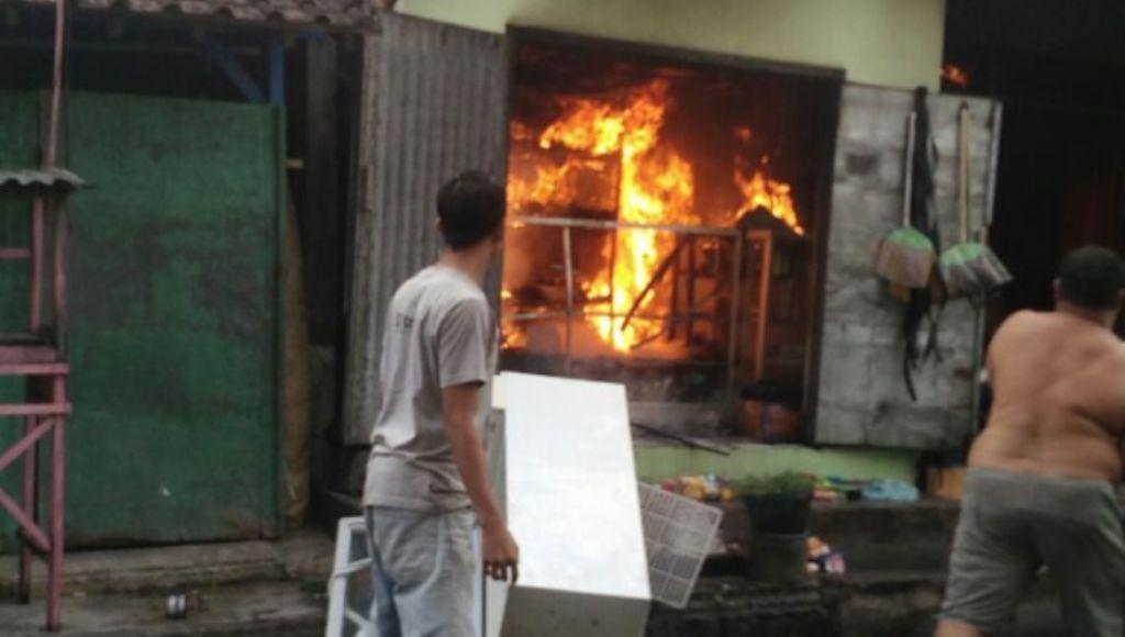Ruko Penjual Gas Elfiji Ludes, Pemiliknya Alami Luka Bakar