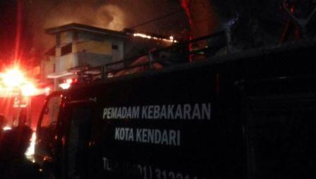 Tiga Rumah di Kelurahan Korumba, Dilalap Sijago Merah