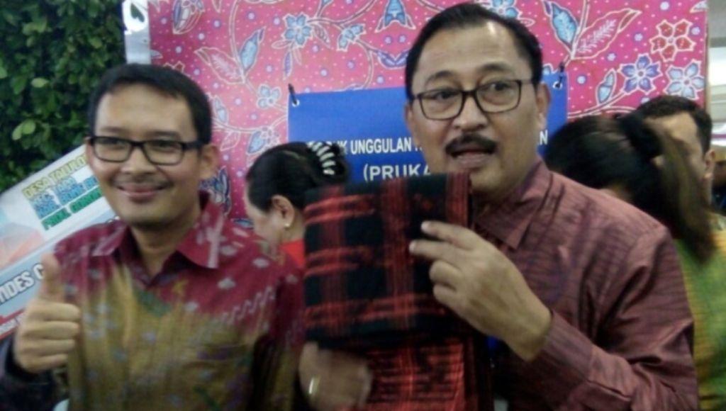 Hasil Tenun Muna Jadi Primadona Expo Prokades di Jakarta