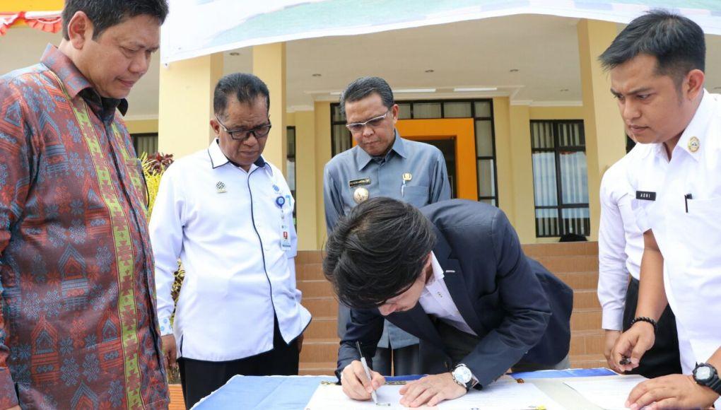 BLK Bantaeng Tandatangani MoU Dengan PT.OS Selnajaya Indonesia
