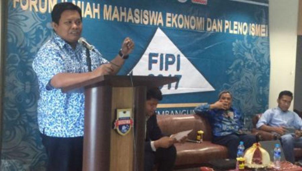 Balon Cagub Sultra ini Jadi Pemateri ISMEI di Makassar