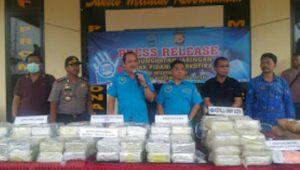 209,93 Kg Sabu dan 8500 Butir Ekstasi Berhasil di Amankan BNN