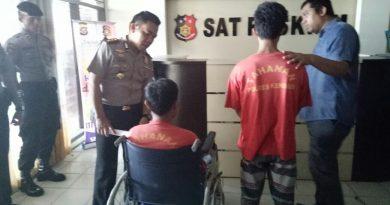 Tidak Dilengkapi Dokumen, Diduga Penadah Motor Curian Ditangkap Polisi.