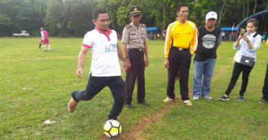 La irwan Buka Open Tournament Sepak Bola Wataliku Cup