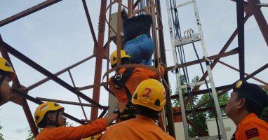 Diduga Depresi, Siswa SMK Kesehatan Nyaris Lompat dari Tower