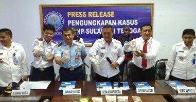 Selundupkan Sabu 1,130 Kilogram, Warga Kendari Ditangkap BNNP Sultra