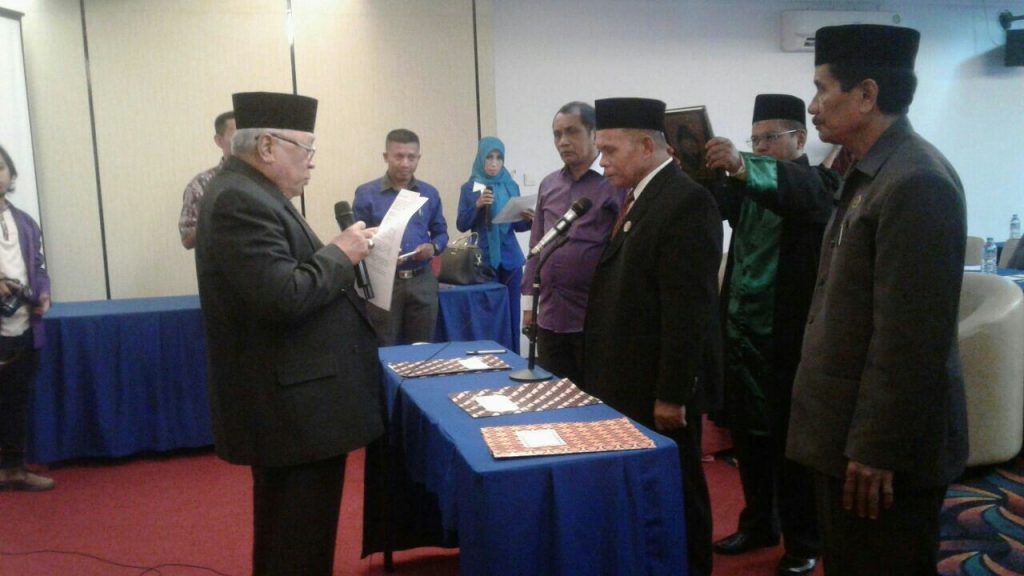 Ketua Stiper Kendari Periode 2018-2022 Resmi Dilantik