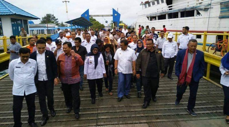 DPR RI Sikapi Fasilitas Pelabuhan Pengulubelo di Wakatobi