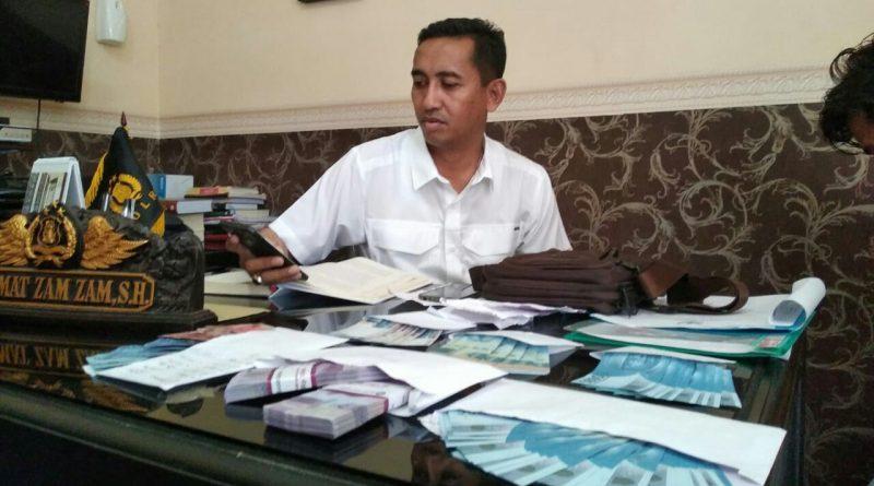 Tim Saber Pungli Polres Konawe Amankan Bendahara Dinkes Konawe