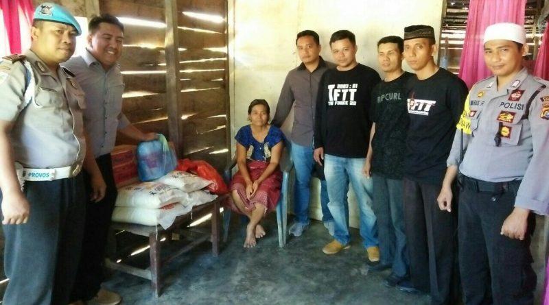 Jelang Idul Fitri TFTT Konawe Berbagi Sembako Pada Lansia