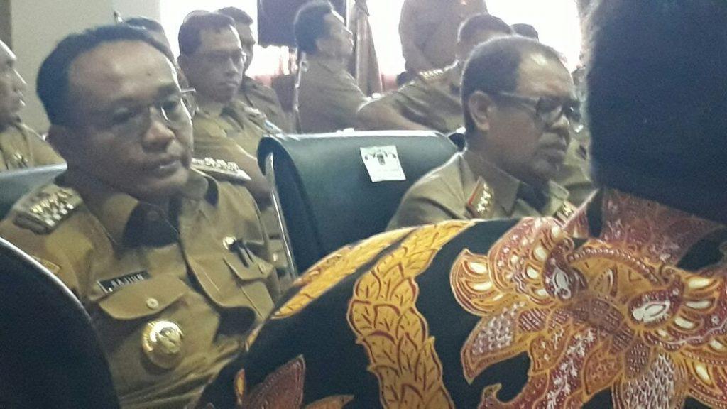 KPK Gelar Rapat Koordinasi Bersama Bupati Muna dan Mubar