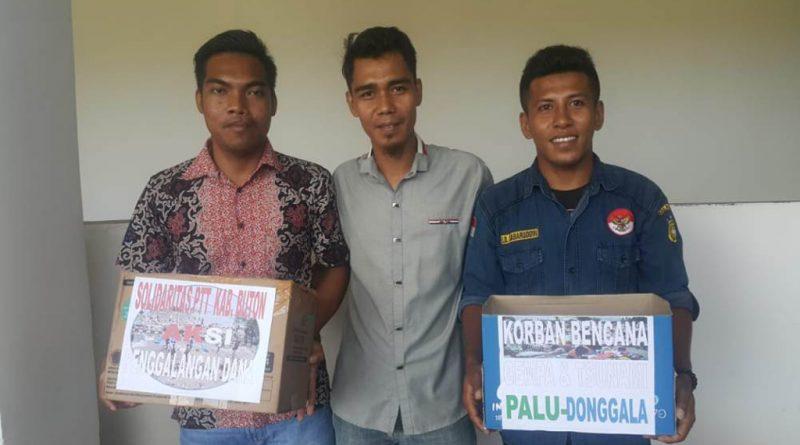 BUTON, SULTRA - Peduli akan bencana gempa dan tsunami yang menimpa Palu dan Donggala, Sulawesi Tengah