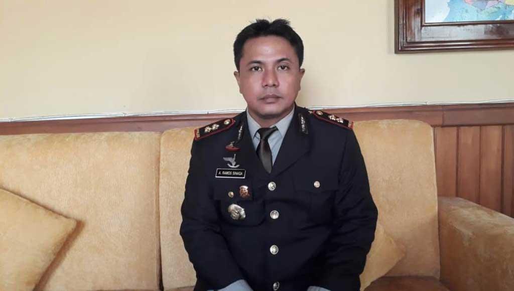 MUNA, SULTRA - Kepolisan Resor (Polres) Muna, Sulawesi Tenggara (Sultra) peringati hari Kesaktian Pancasila 1 Oktober 2018