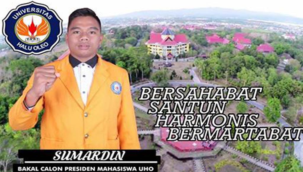 Sumardin Siap Tampil Jadi Ketua BEM UHO 2018