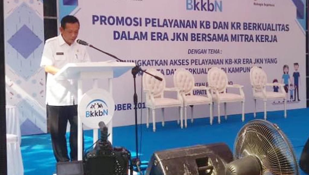 Pemkab Buton Promosi Pelayanan KB, KR dan Kampung KB di Laburunci