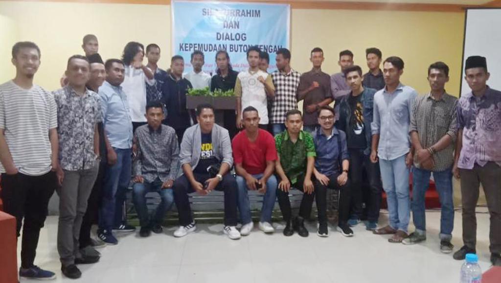 Gelar Dialog Kepemudaan, Pemuda Mahasiswa Buteng Siap Kawal Pembangunan Daerah