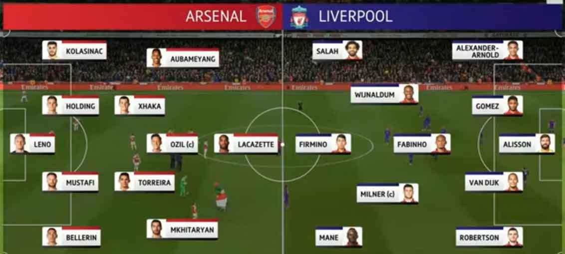 Tahan Imbang Arsenal 1-1, Liverpool Naik ke Puncak Klasemen Liga Inggris