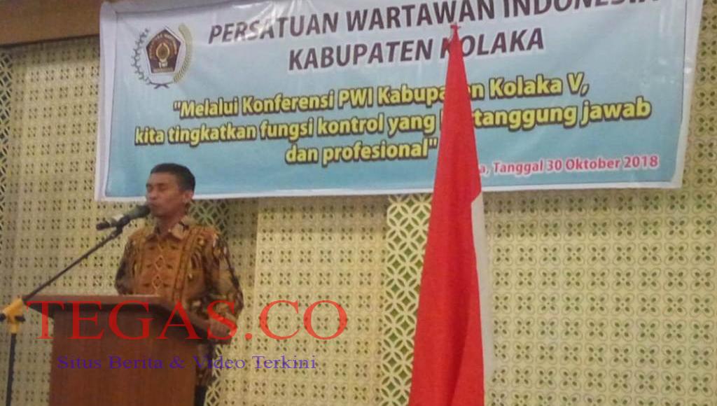 Konferensi PWI Kolaka V, Sarjono: Pers dan Media seperti Incubator