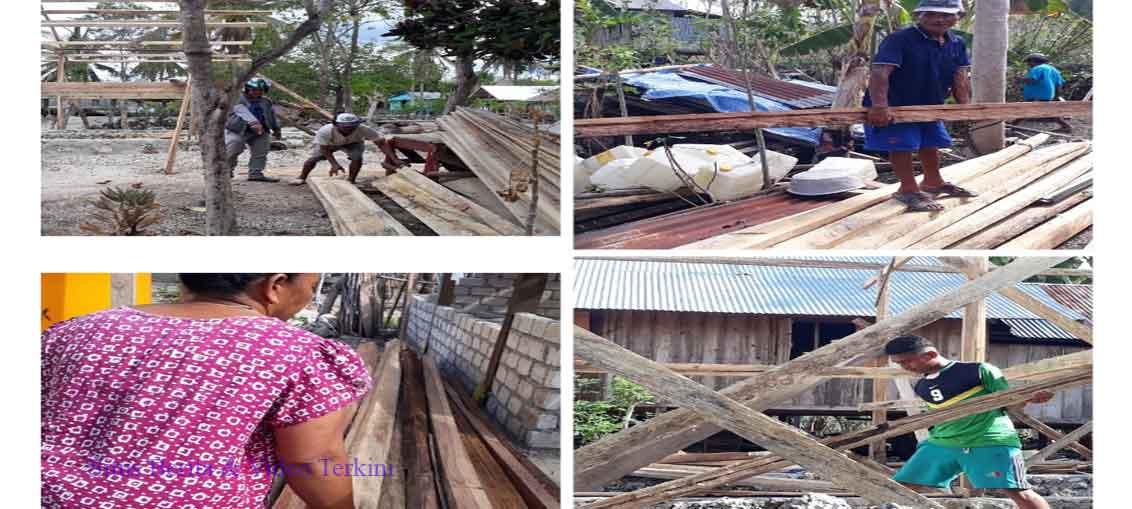 Bantuan BSPS di Desa Oempu Walingkabola Disoal Masyarakat