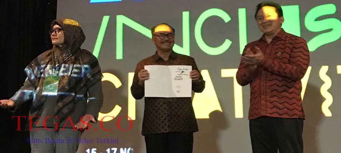 Hadiri Festival Bekraf di Surabaya, Surunuddin: Pemda Dorong Kerajinan Limbah Kayu