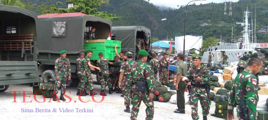 Satgas Pamtas RI-PNG Yonif 725/Woroagi Tiba Jumat Pagi di Jayapura