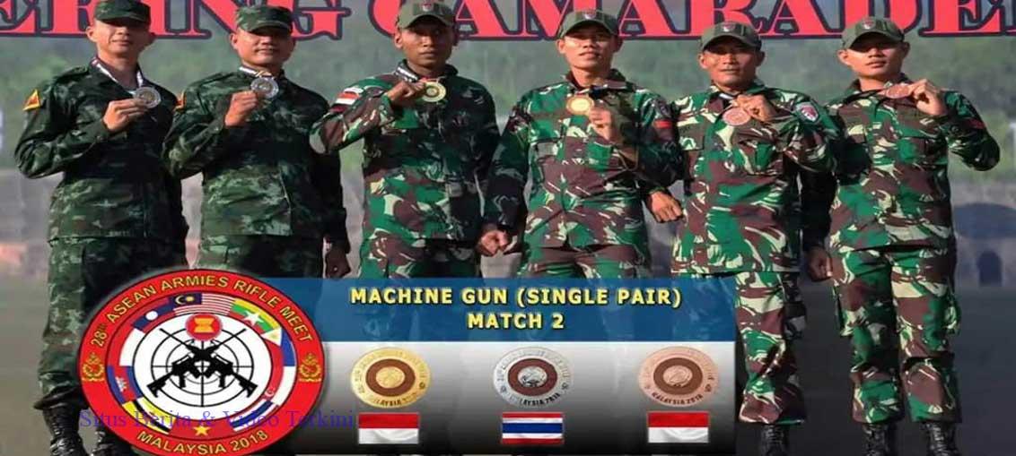 Lomba Tembak Angkatan Darat ASEAN, Hari ke 3 TNI Kembali Menangkan Pertandingan