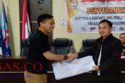 KPU Konawe Serahkan APK Pemilu ke Parpol