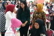 Istri Mensos Adakan Baksos di Jakarta Islamic Center