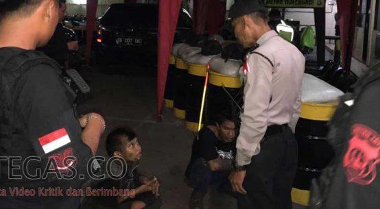 Terlibat Tawuran di Tamansari, Dua Remaja Diamankan Tim Pemburu Preman