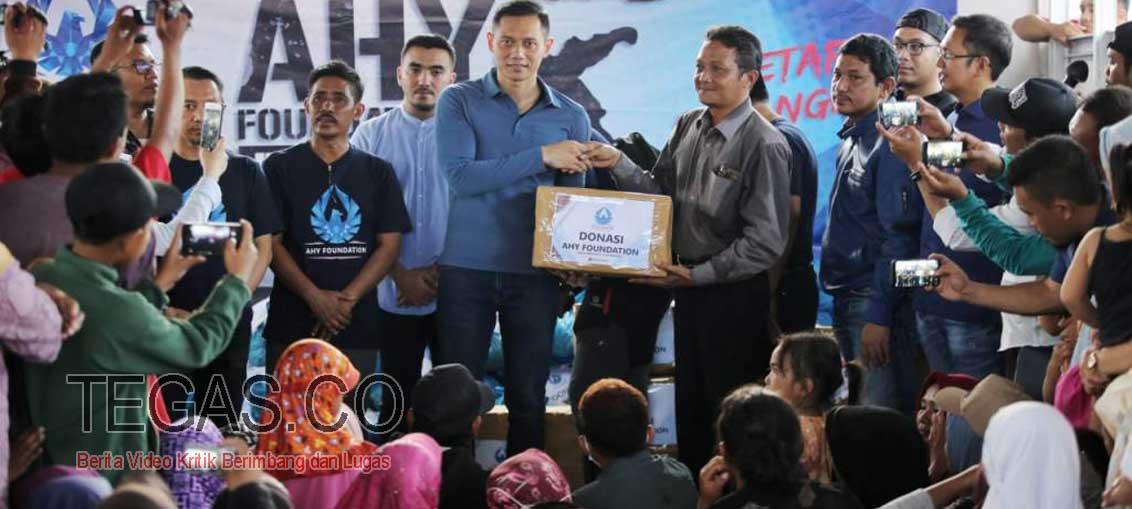 Peduli Sulteng, Tim AHY Foundation Beri Bantuan Pasca Rehabilitasi ke Donggala