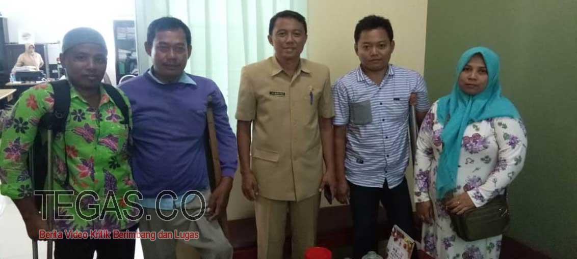 PPDI Sampang Kunjungi Disporabudpar Terkait Paralimpiade