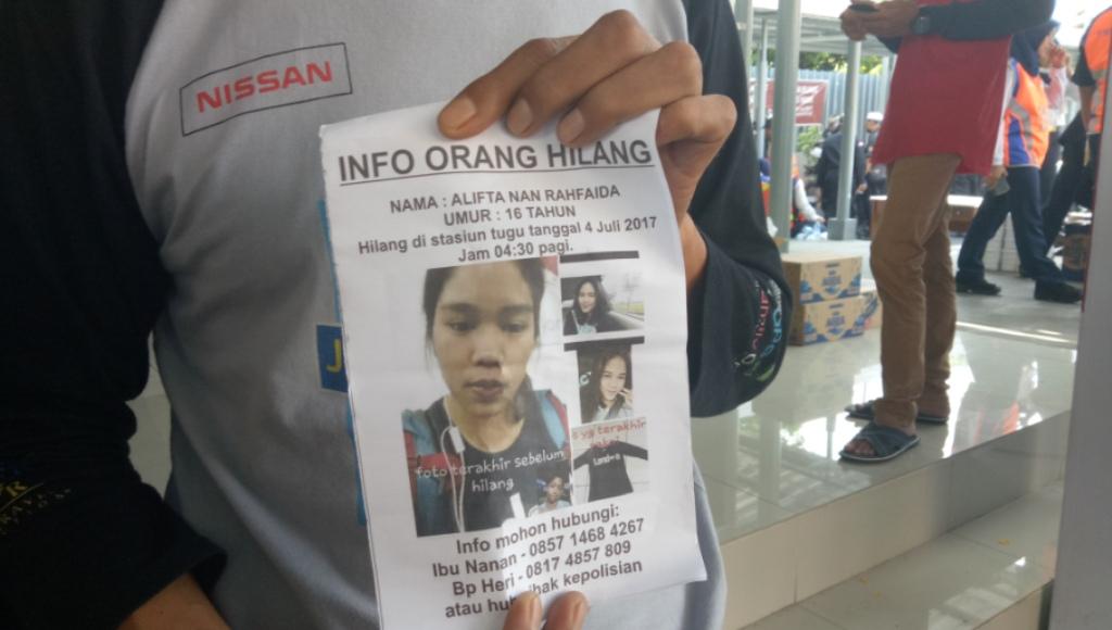 Liburan ke Yogyakarta, Siswi SMK Multimedia Jakarta Hilang