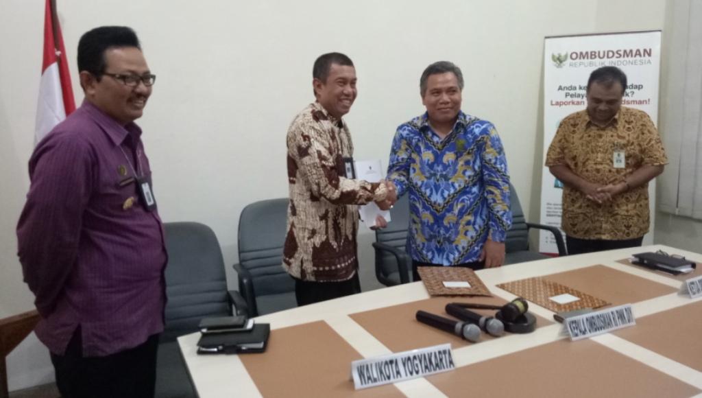 Ombudsman Serahkan Saran Perparkiran Kepada Pemkot Yogyakarta