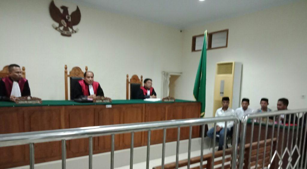 Sidang Kasus Pembunuhan Di Kel Labuan Digelar.