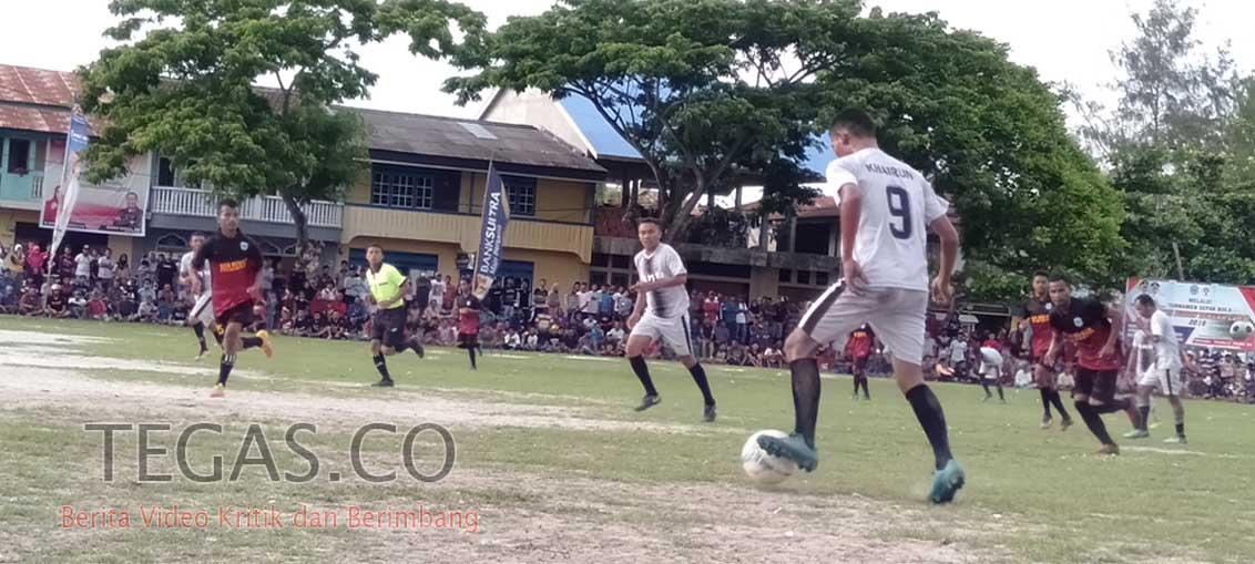 Bupati Buton Tengah Cup II, PS Gu Tumbangkan PS Mastim 3-0 di Laga Final