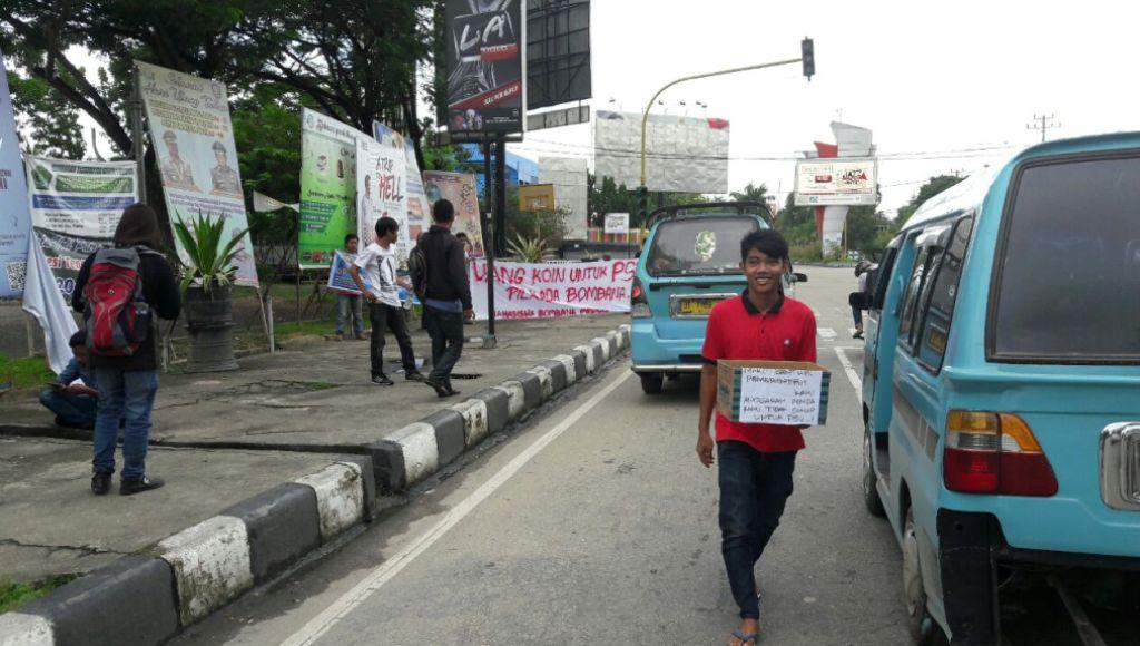 Mahasiswa Kumpul Koin, Bantu PSU Bombana